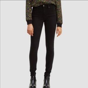 Levi's 721 High Rise Skinny Jeans Black